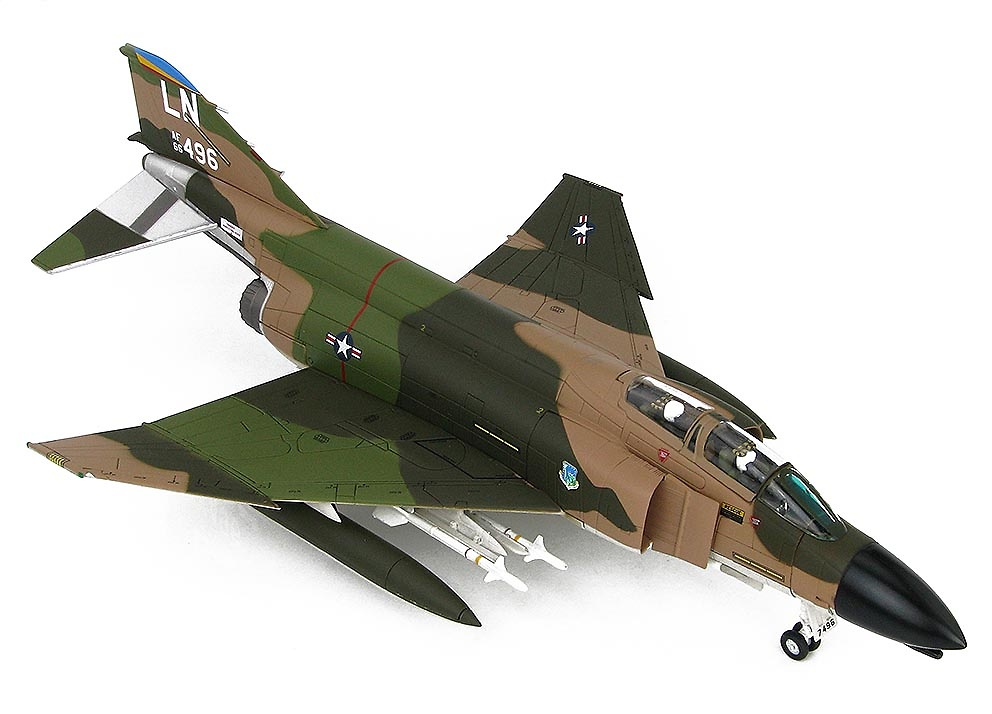 F-4D Phantom II 66-496, 48th TFW, RAF Lakenheath, 1975, 1:72, Hobby Master