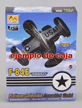 F-84E Thunderjet - 'Sandy' 9th FBS, 1:72, Easy Model