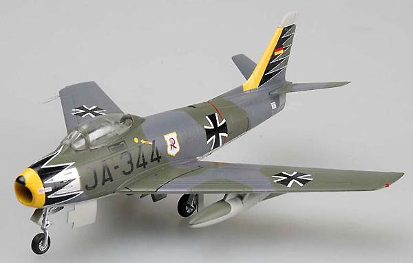 F-86 3/JG71, 1963, 1:72, Easy Model