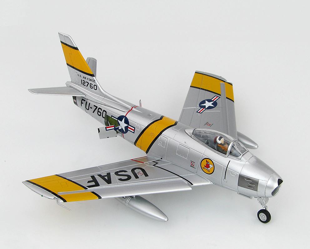 F-86E Sabre FU-760, piloto Charles