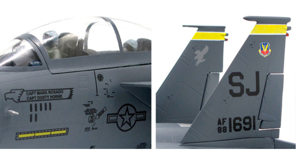 F15E Eagle USAF, 336th Fighter Squadron, Desert Storm, 1991, 1:72, JC Wings