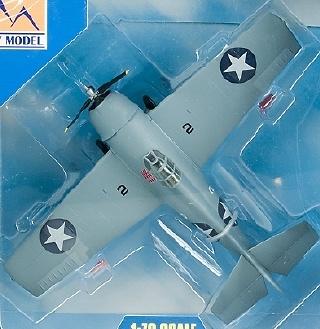 F4F-4, VMF-223 USMC, 1942, 1:72, Easy Model
