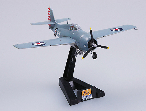 F4F Wildcat, VF-3 USS Lexington, 1:72, Easy Model