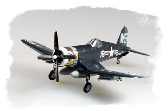 F4U-4, VMF-323 U.S.M.C, Korea, 1952, 1:72, Easy Model