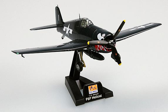 F6F-Hellcat, 5 VF-27, USS Princeton, 1944, 1:72, Easy Model