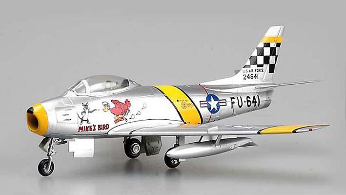 F86 Sabre F30, , Charles Mcsain, Korea 1953, 1:72, Easy Model