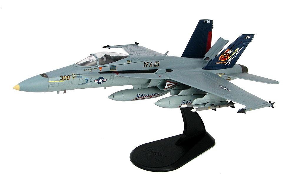 F/A-18C BuNo164682, VFA-113, USS John C Stennis, 2005, 1:72, Hobby Master