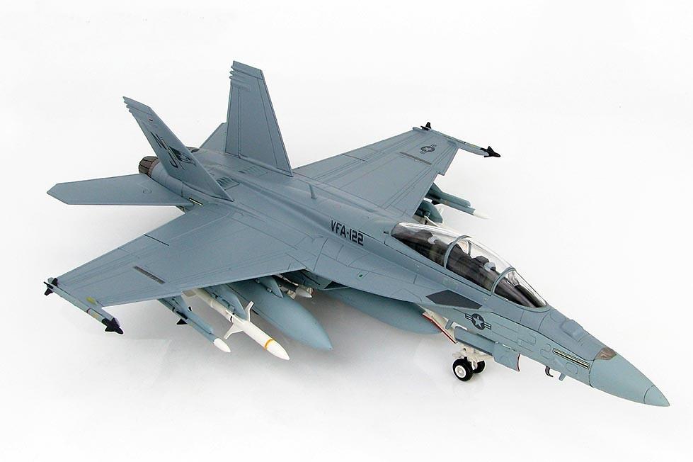 F/A-18F Super Hornet, 166673/NJ, VFA-122, RAF Fairford, 2006, 1:72, Hobby Master