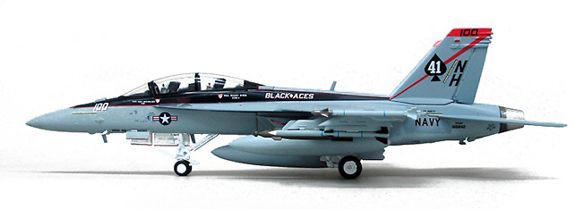 F/A-18F Super Hornet USN Vfa-41 Black Aces, 1:72, Witty Wings