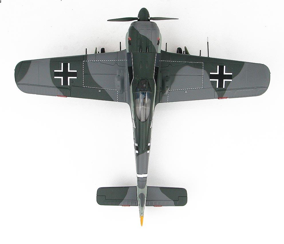 FW 190A-4, piloto Egon Mayer, Gruppenkommandeur III./JG 2, 1943, 1:48, Hobby Master