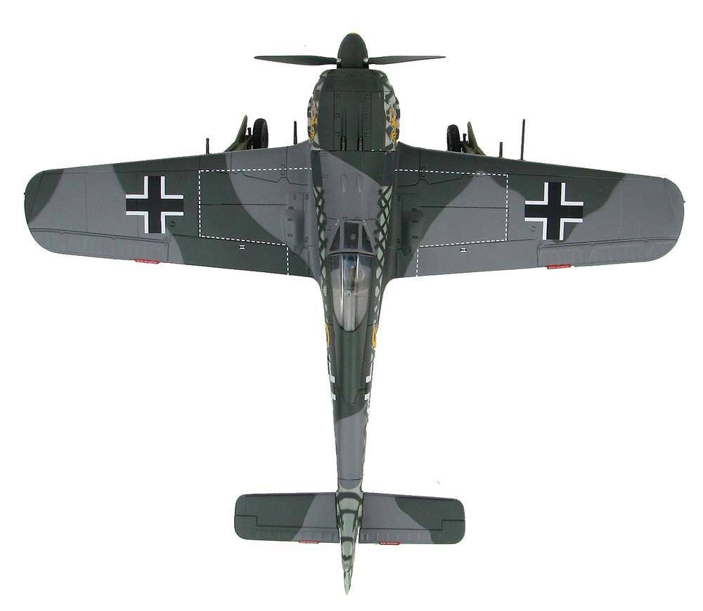 FW 190A-4 6./JG 1, Woensdrecht, Holanda, Octubre, 1942, 1:48, Hobby Master