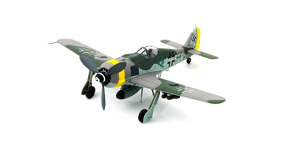 FW190 F-9 Munich, Germany, 1945, 1:48, Hobby Master