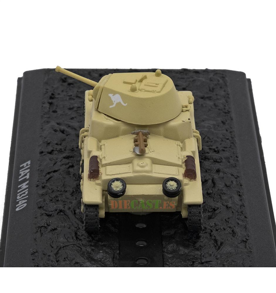 Fiat Ansaldo M13/40, Ejército Italiano, El Alamein, 1942, 1:72, Atlas Editions