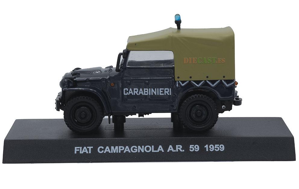 Fiat Campagnola AR-59, Italia, 1959, 1/43, Colección Carabinieri