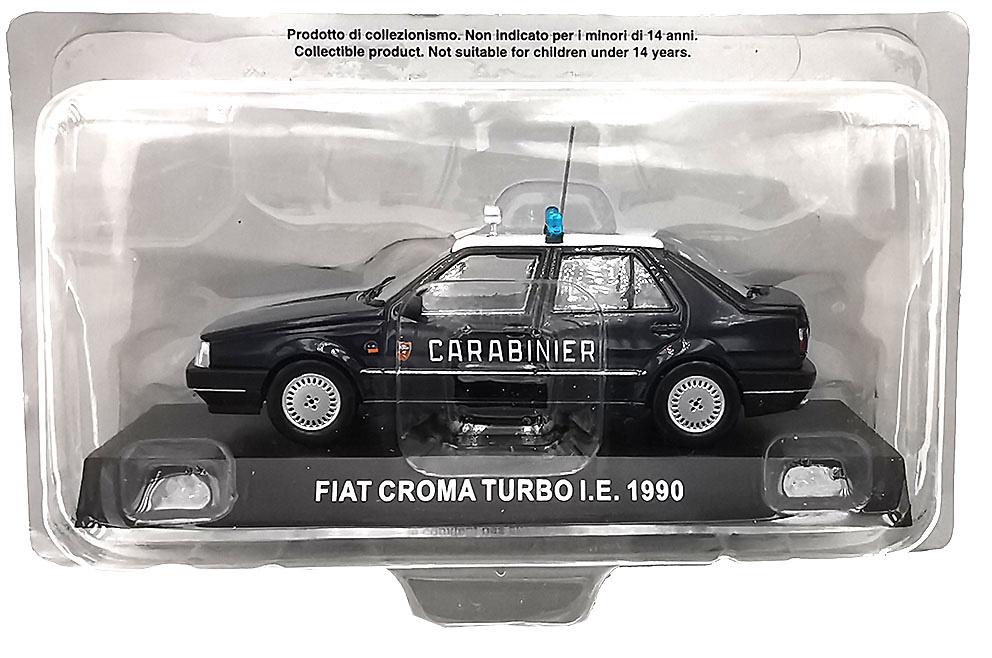 Fiat Croma Turbo I.E. Italia, 1990, 1/43, Colección Carabinieri