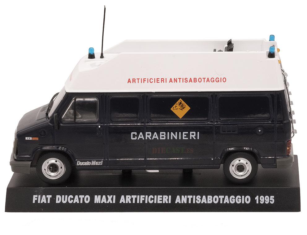 Fiat Ducato Maxi, Artificieros Antisabotaje, Italia, 1995, 1/43, Colección Carabinieri