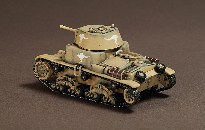 Fiat M13-40, Royal Australia Army, 1940, Italy, 1:72, War Master