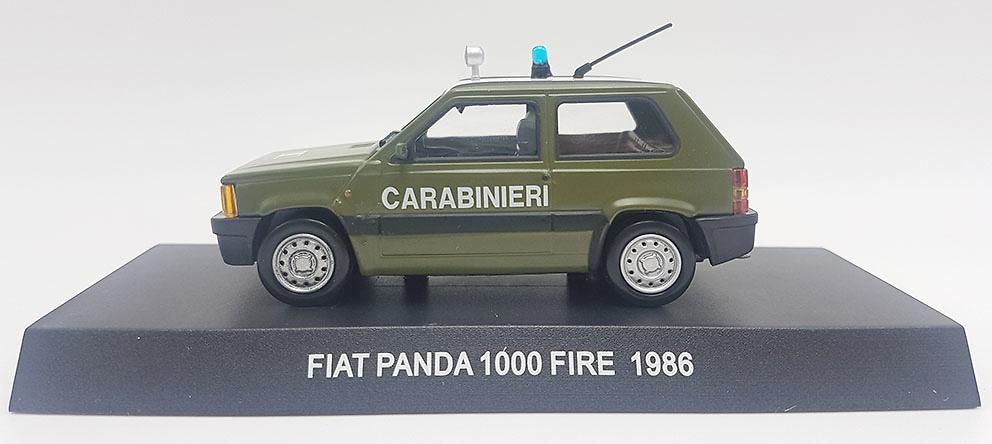 Fiat Panda 1000 Fire, Italia, 1986, 1/43, Colección Carabinieri