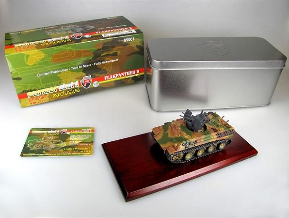 Flakpanther Ausf. D Anti-Aircraft Gun s.Pz.Jg.Abt.653, 1:72, Panzerstahl