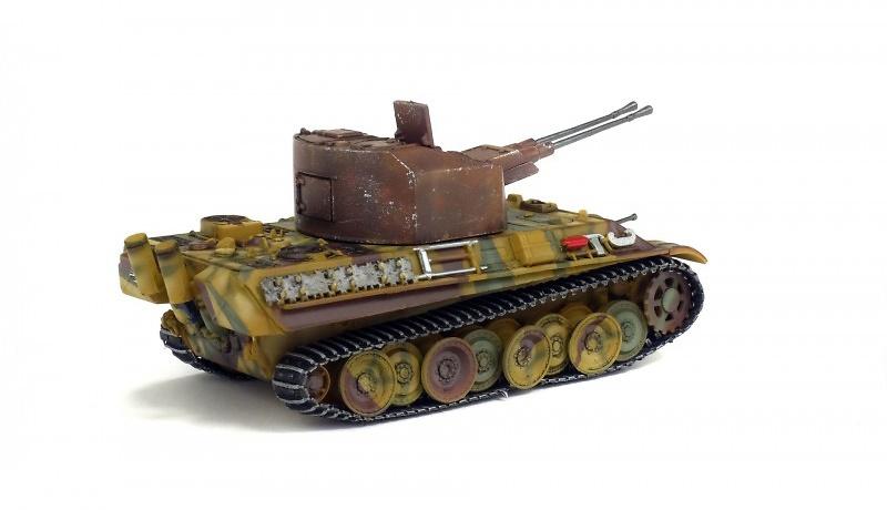 Flakpanzer 341 Coelian, Prototipo, Alemania, 1945, 1:72, Solido