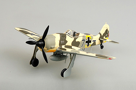 Focke Wulf 190A-6/5 JG54, Otoño, 1943, 1:72, Easy Model