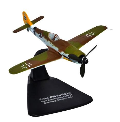 Focke Wulf 190D 12./JG54, Alemania, 1944, 1:72, Oxford