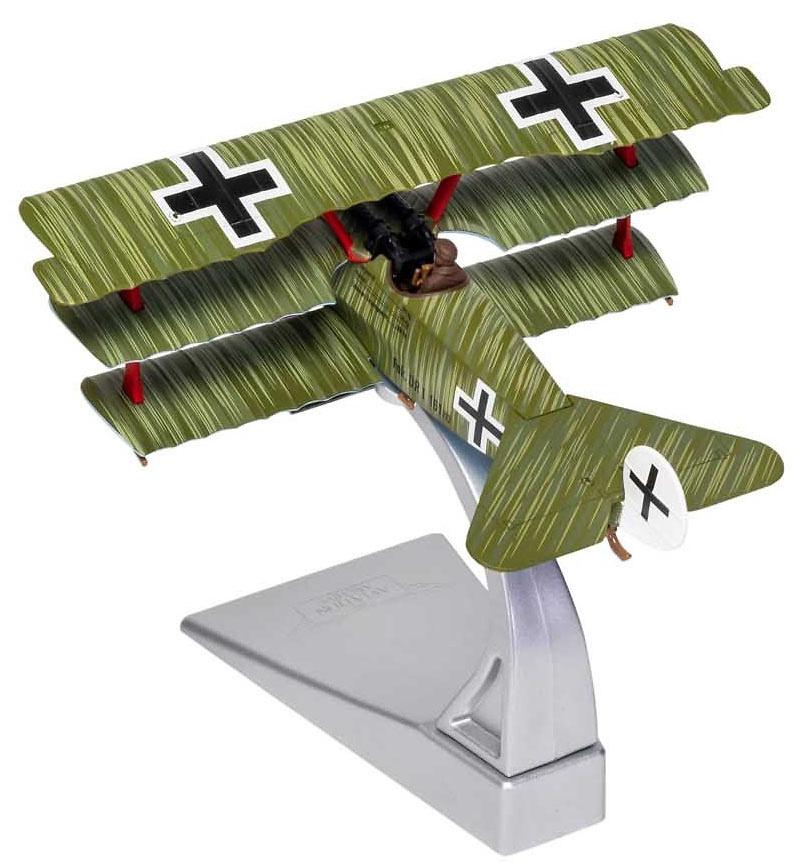Fokker DR.1 Triplane, Wolfram Freiherr von Richthofen, 21st April 1918, Death of the Red Baron, 1:48, Corgi