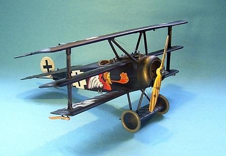 Fokker DR1, 450/17 Jasta 7, Lt. Joseph Jacobs, Mayo, 1918, 1:30, John Jenkins