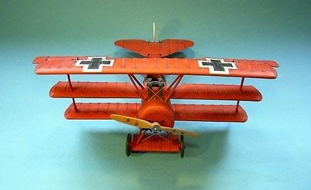 Fokker DR1, Barón Rojo, 425/17 Jasta 11, 21 Abril, 1918, 1:30, John Jenkins
