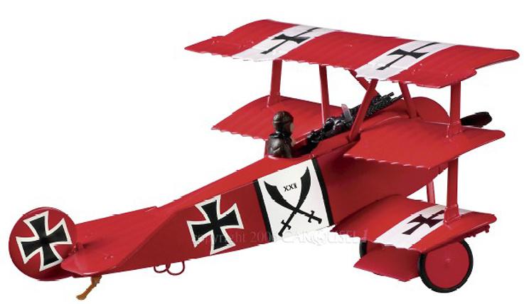 Fokker Dr.I Luftstreitkrafte, Crossed Swords, 1:48, Carousel