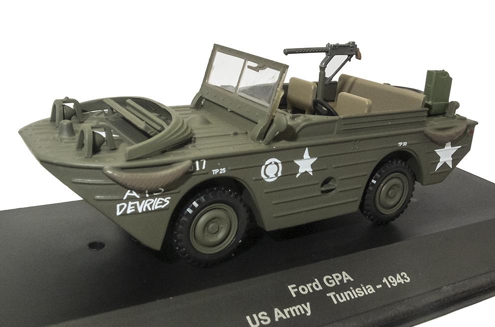 Ford GPA, US Army, Túnez, 1943, 1:43, Atlas