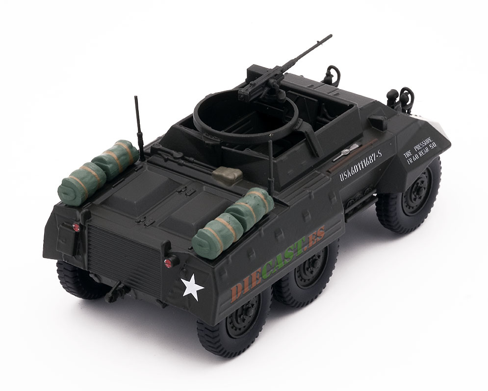 Ford M20 Scout Car, coche utilitario blindado, USA, 1943-45, 1:43, Atlas