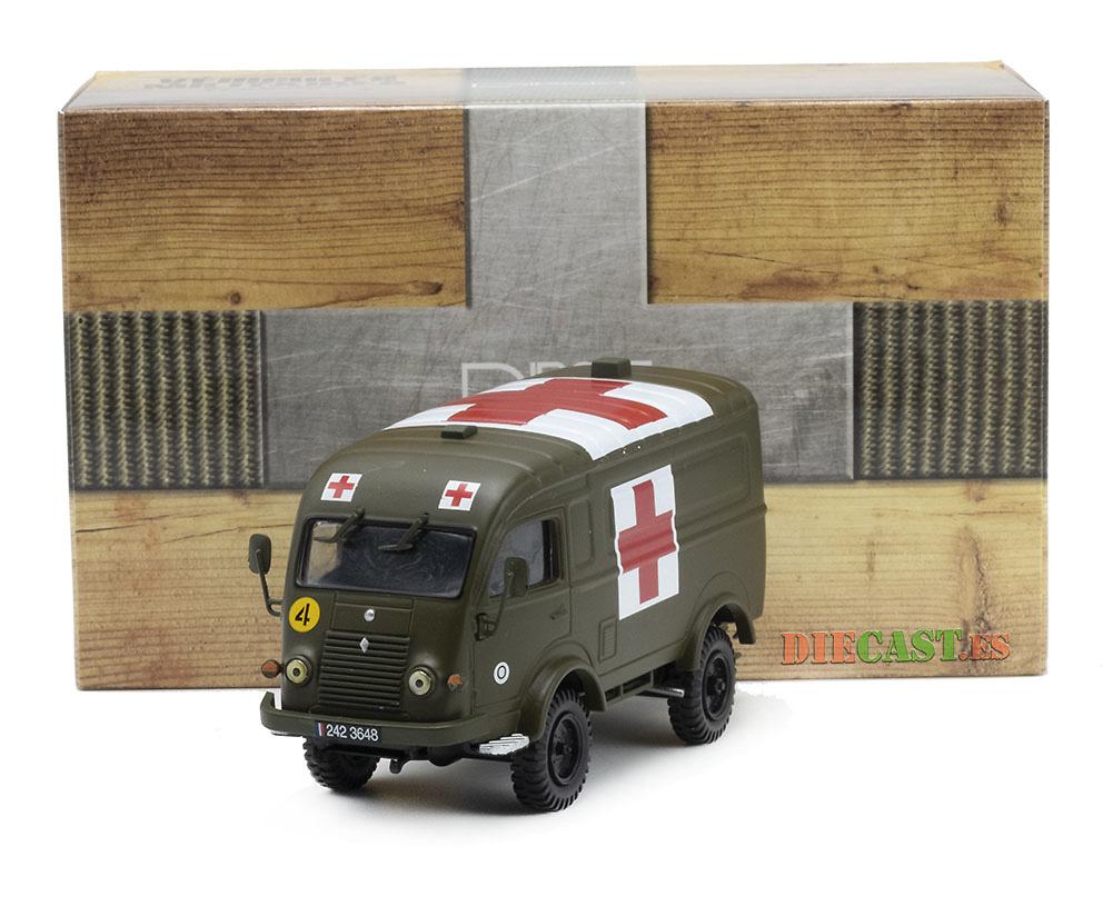 Furgón sanitario Renault R2087, Francia, 1952/1969, 1:43, Ixo