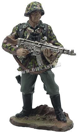 Fusilero de las Waffen SS, 1:32, Hobby & Work