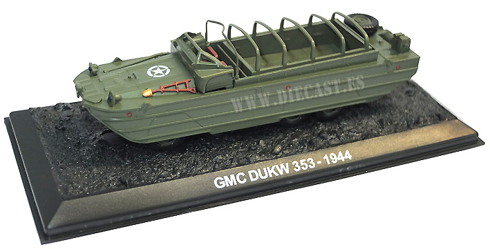 GMC DUKW 353, US 1944, 1:72, Blitz 72