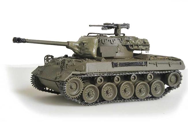 GMC M18 Hellcat, 2ª Guerra Mundial, 1:72, Wespe Models