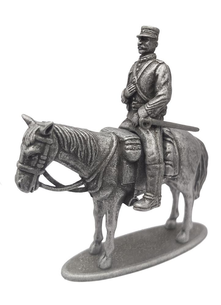 Gendarme a caballo, 1:24, Francia, Primera Guerra Mundial, Atlas Editions