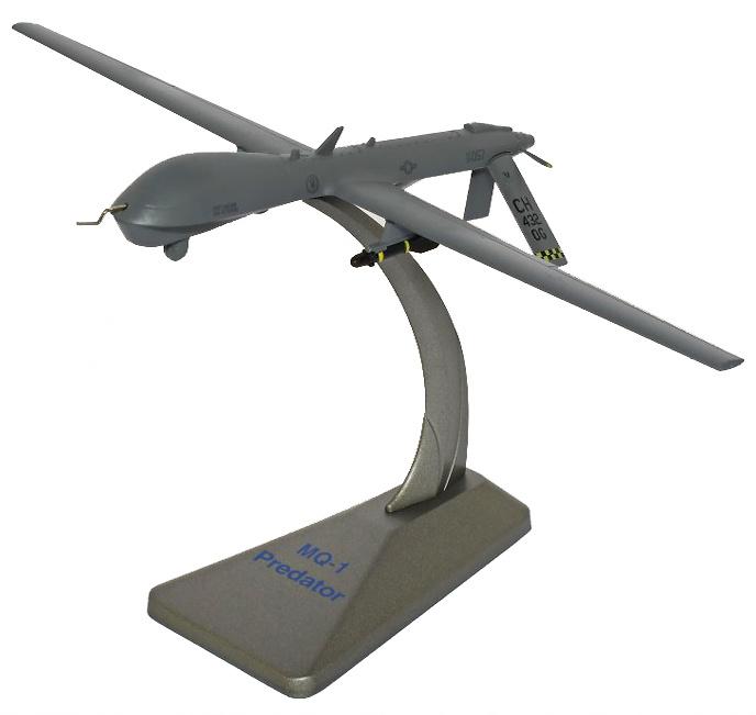 General Atomics MQ-1 Predator Drone UAV, Creech AFB, 1:72, Air Force One