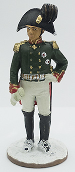 General Stroganov, Regimiento Guardias, 1812, 1:32, Eaglemoss