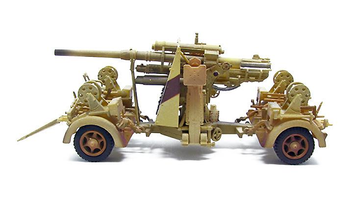 German 88mm Flak 36, 1942, 1:72, PMA