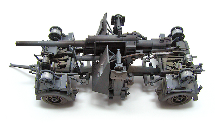 German 88mm Flak 37, 1942, 1:72, PMA