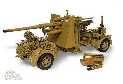 German Flak 36/37 88MM, Afrika Corps, 1:18, 21st Century Toys