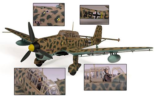 German Ju-87B/R Stuka, 1:32, 21st Century Toys