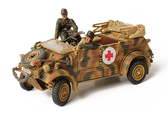 German Kübelwagen Type 32, Holand, 1944, 1:32, Forces of Valor