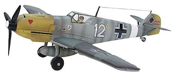 German Messerschmitt BF 109E 7JG26, 1:32, 21st Century Toys