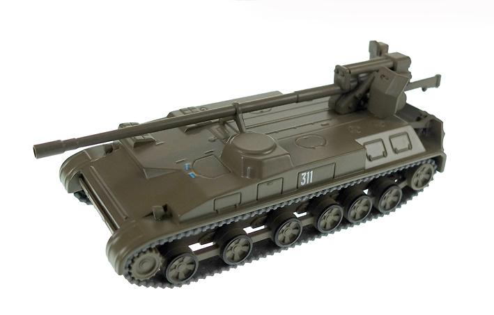 Giatsint-S, 2S5, Ejército Soviético, 1:72, DeAgostini