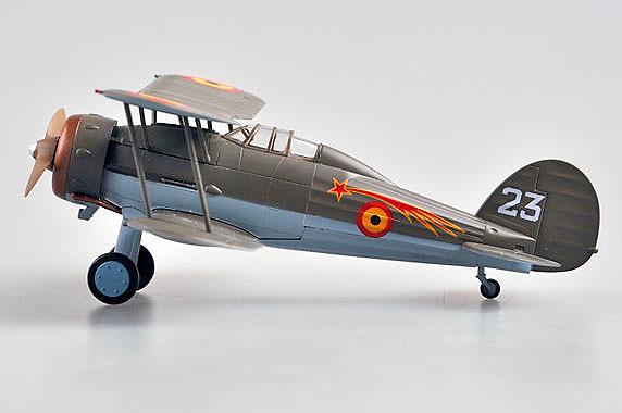 Gladiator Mk.I, 1/1/2 le Escadrille du ler Grouppe du 2e Regiment Aeronatique, 1:72, Easy Model
