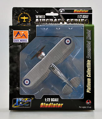 Gladiator Mk.I, 33 Sqn , RAF L7612,1:72, Easy Model