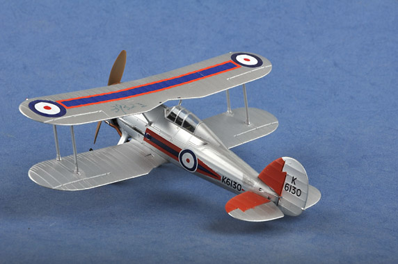 Gloster Gladiator MK-1, RAF 72 Sqn., 1:48, Easy Model