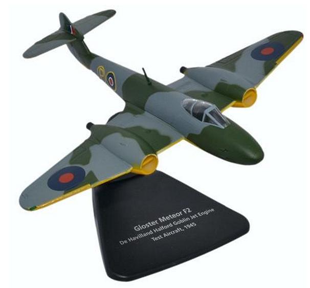 Gloster Meteor F2 De Havilland Halford Goblin Jet Engin Test Aircraft, 1945, 1:72, Oxford